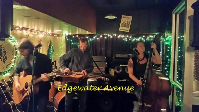 Edgewater Avenue at the cafe tonight!