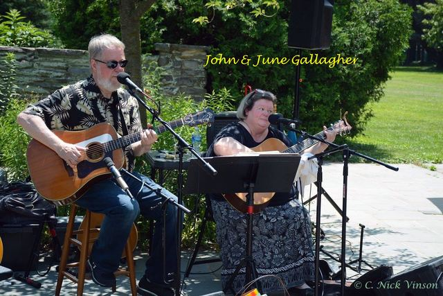 John & June Gallagher perform this evening!