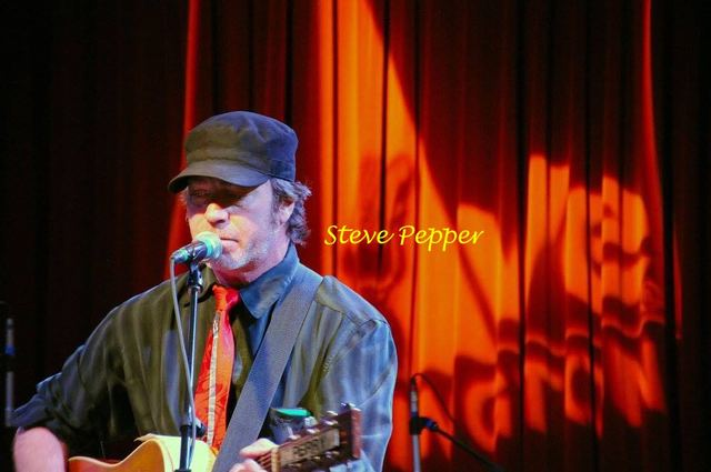 Steve Pepper and Friends at the cafe tonight!