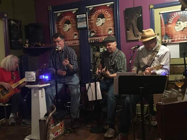 Road Block Ron's Traveling Blues Revue at 8 tonight.